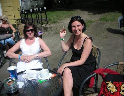 Myriam Bjerkli sitt bilete av Caterina og meg LLF 08