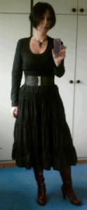 lang kjole